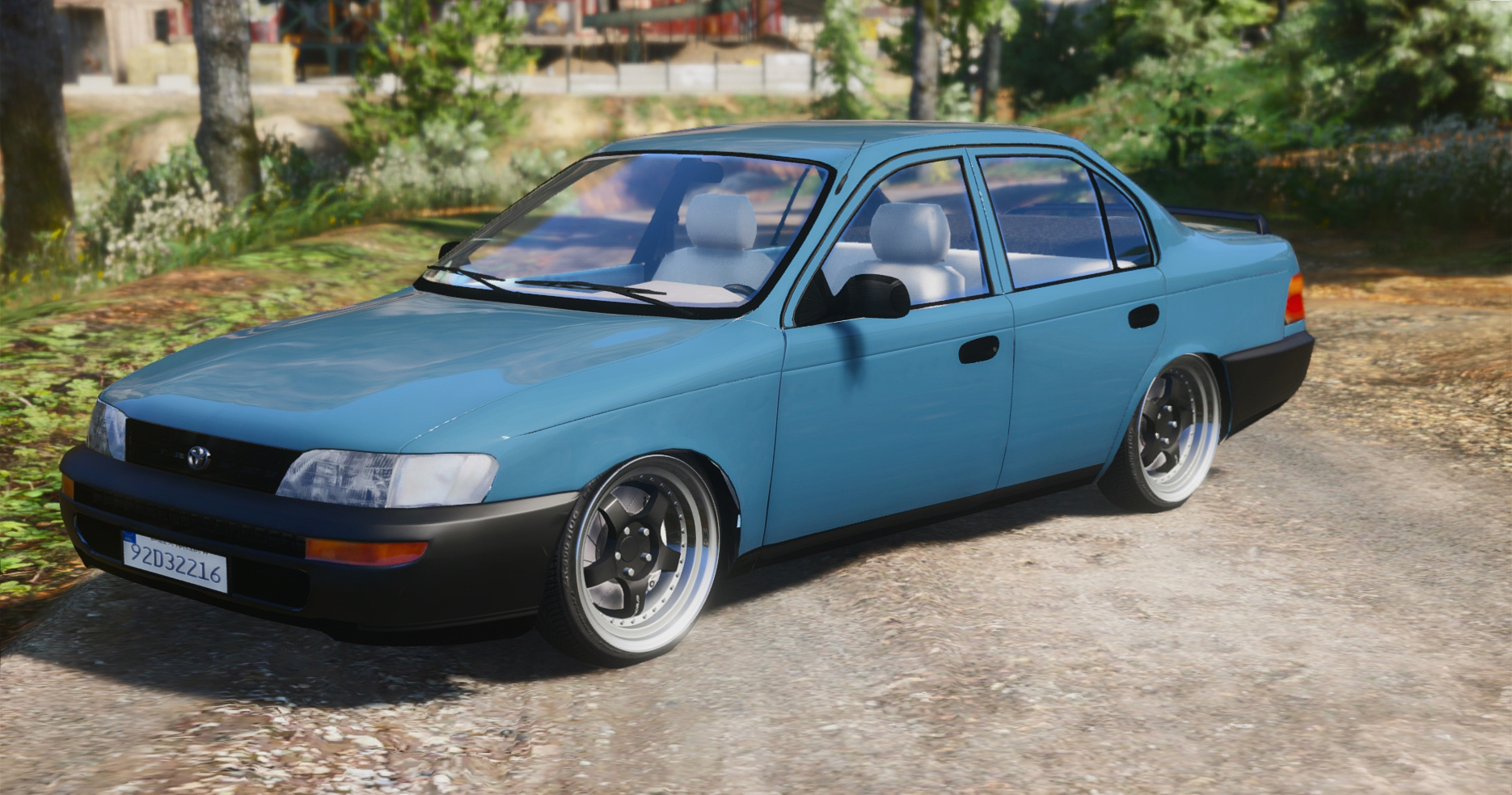 toyota corolla 1995 xli irish based gta5. Black Bedroom Furniture Sets. Home Design Ideas