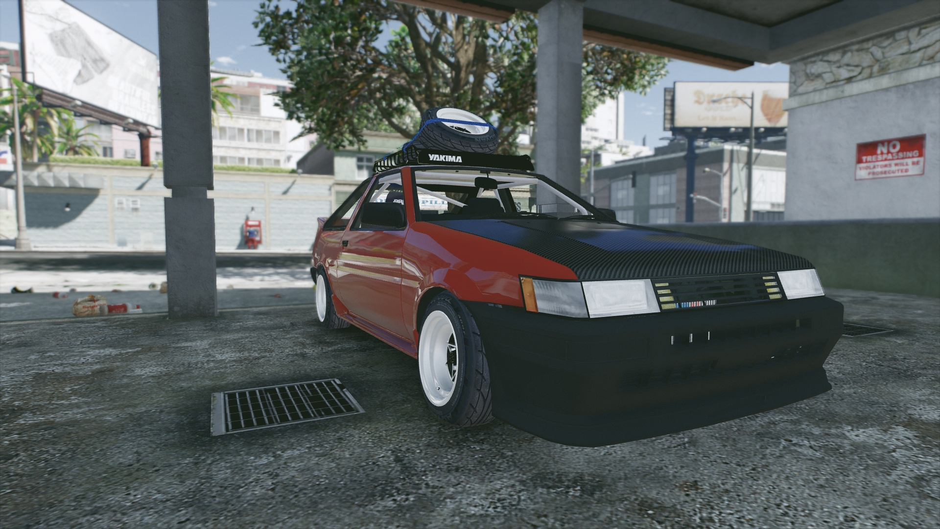 Toyota corolla levin ae86 replace tuning gta5 for Toyota 86 exterior mods