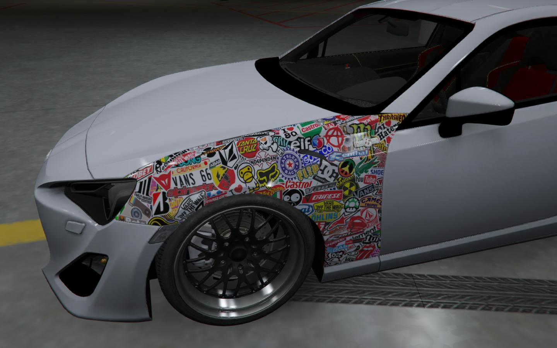 How Much Is A Car Paint Job >> Toyota Gt 86 Jdm Style Paintjob Hd Gta5 Mods Com