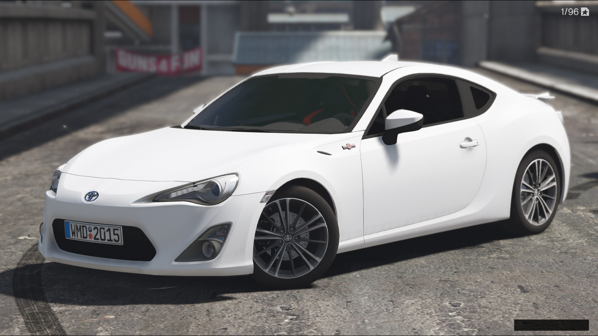 Toyota gt86 add on replace tunable hq gta5 for Toyota 86 exterior mods