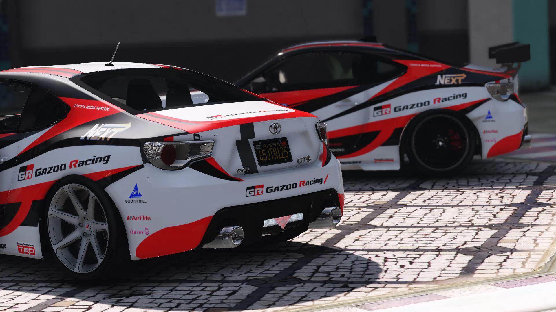 Toyota 86 Livery >> Toyota Gt86 Gazoo Racing Livery Gta5 Mods Com