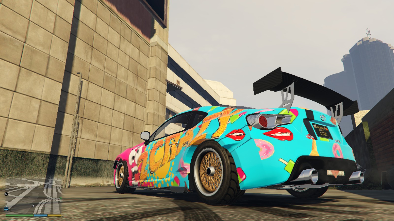 Toyota 86 Livery >> Toyota GT86 livery - 2 Crazy Design (inspired by JP Performance) Paintjob - GTA5-Mods.com