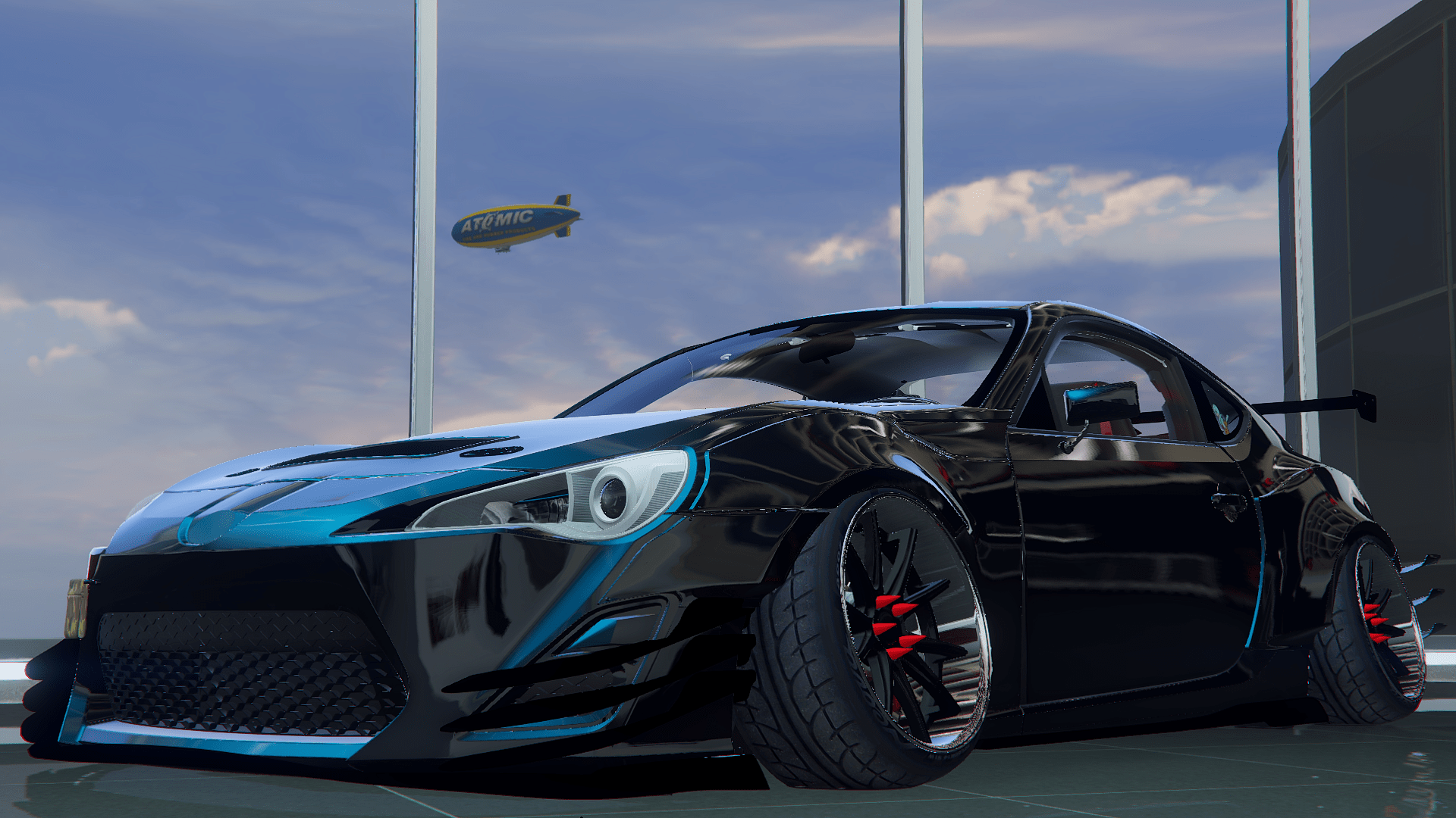 toyota gt86 rocket bunny camber gta5. Black Bedroom Furniture Sets. Home Design Ideas