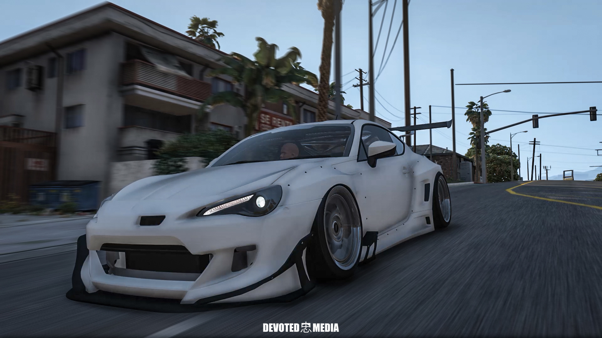 Toyota gt86 super tuning add on gta5 for Toyota 86 exterior mods