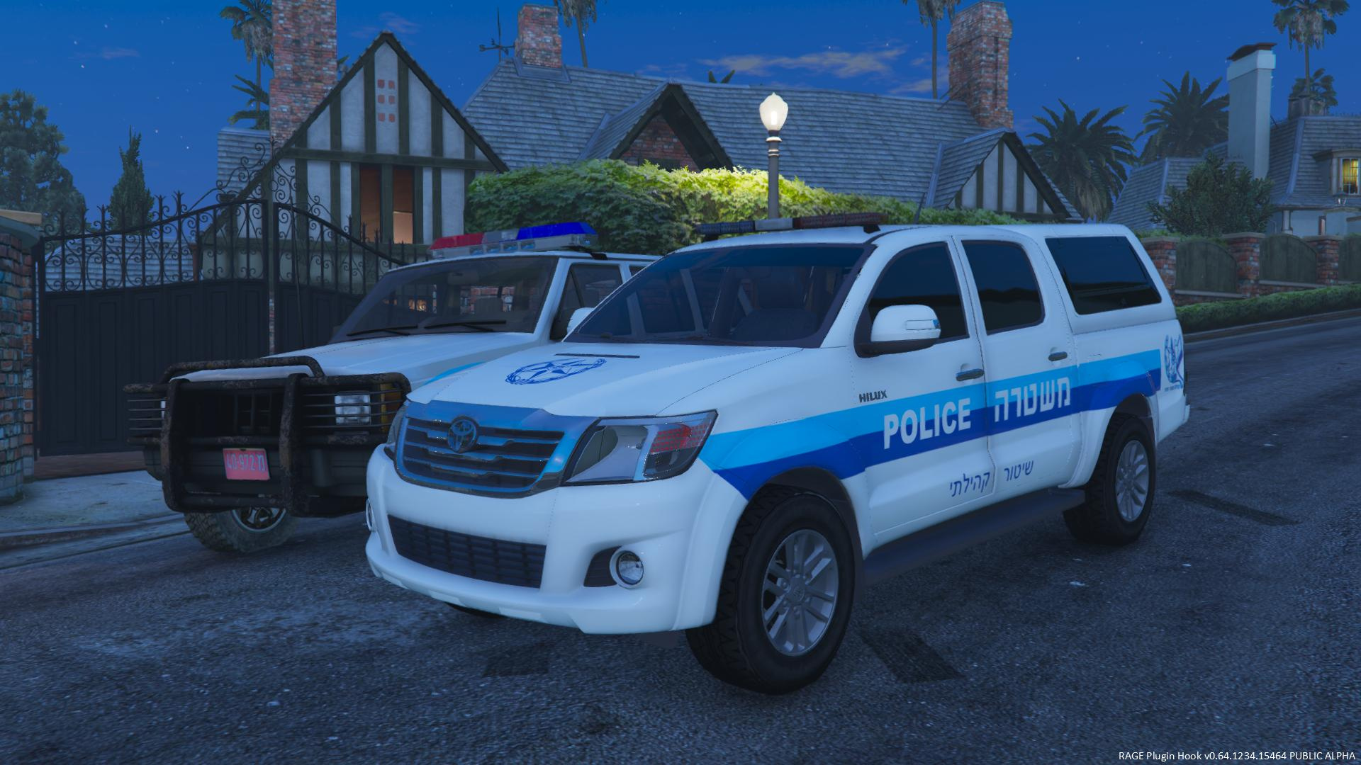 Toyota Hilux 2006 Israeli Police Gta5 Mods Com