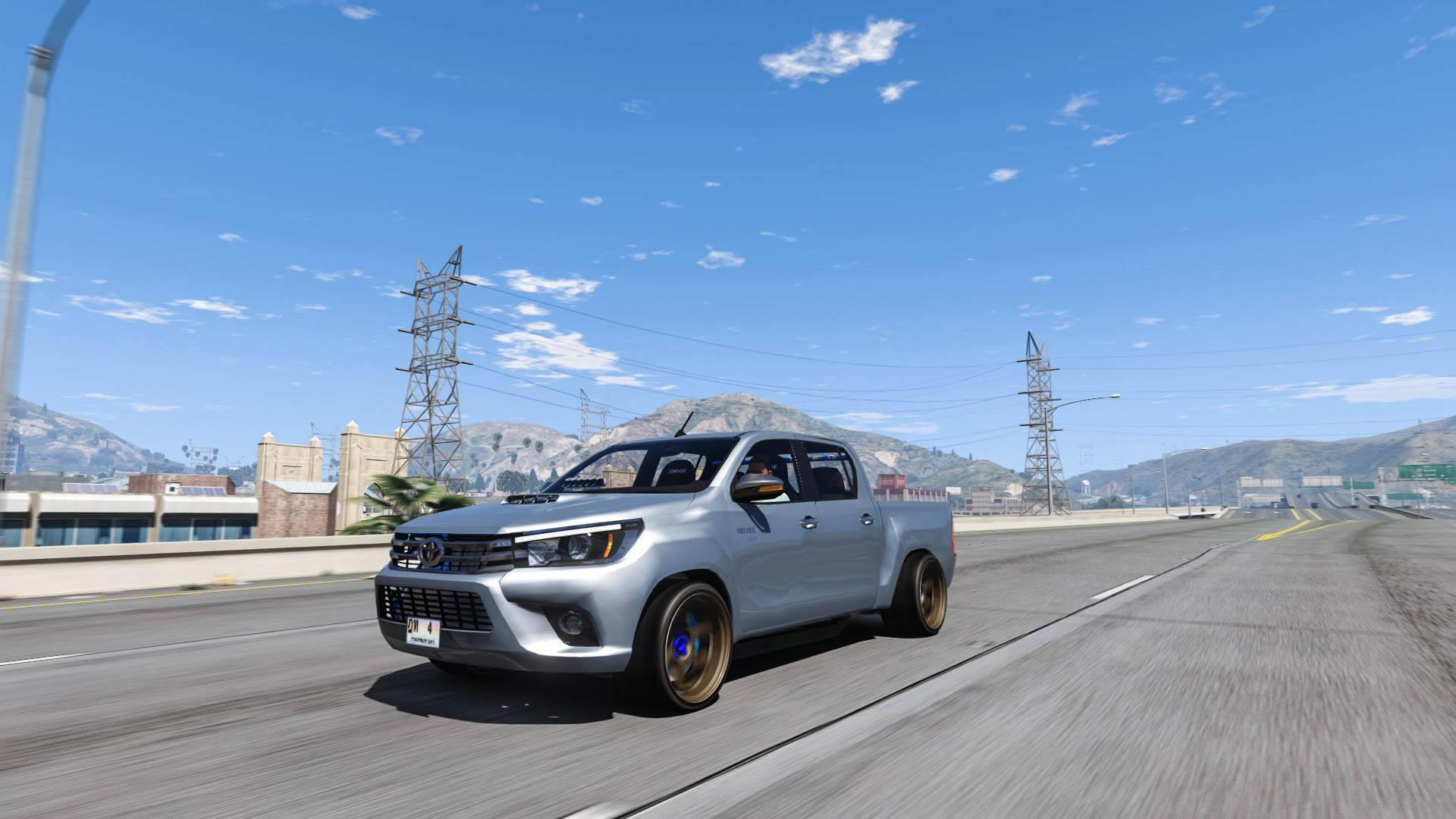 Toyota Hilux Revo 2014 / Modify [Replace] - GTA5-Mods com