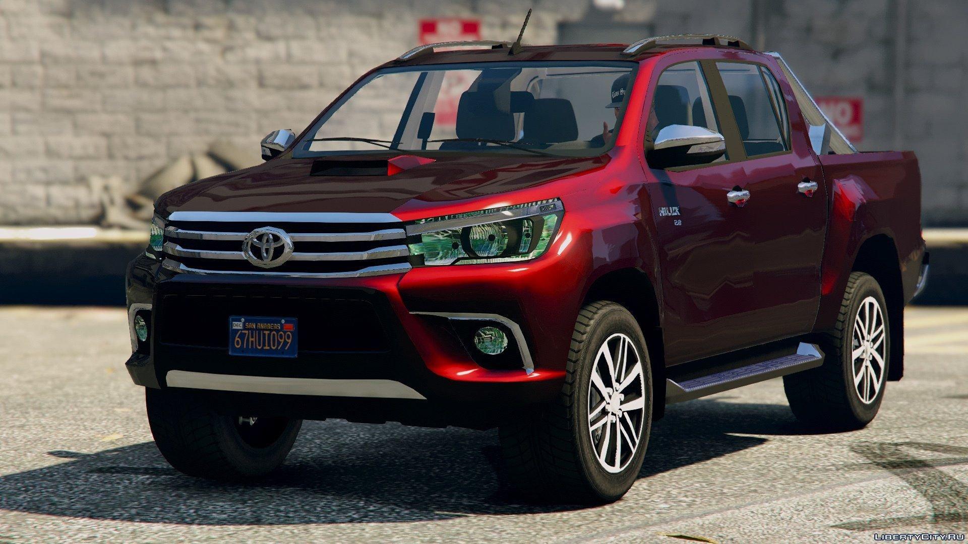Toyota Hilux 2017 >> 2017 Toyota Hilux Revo Gta5 Mods Com