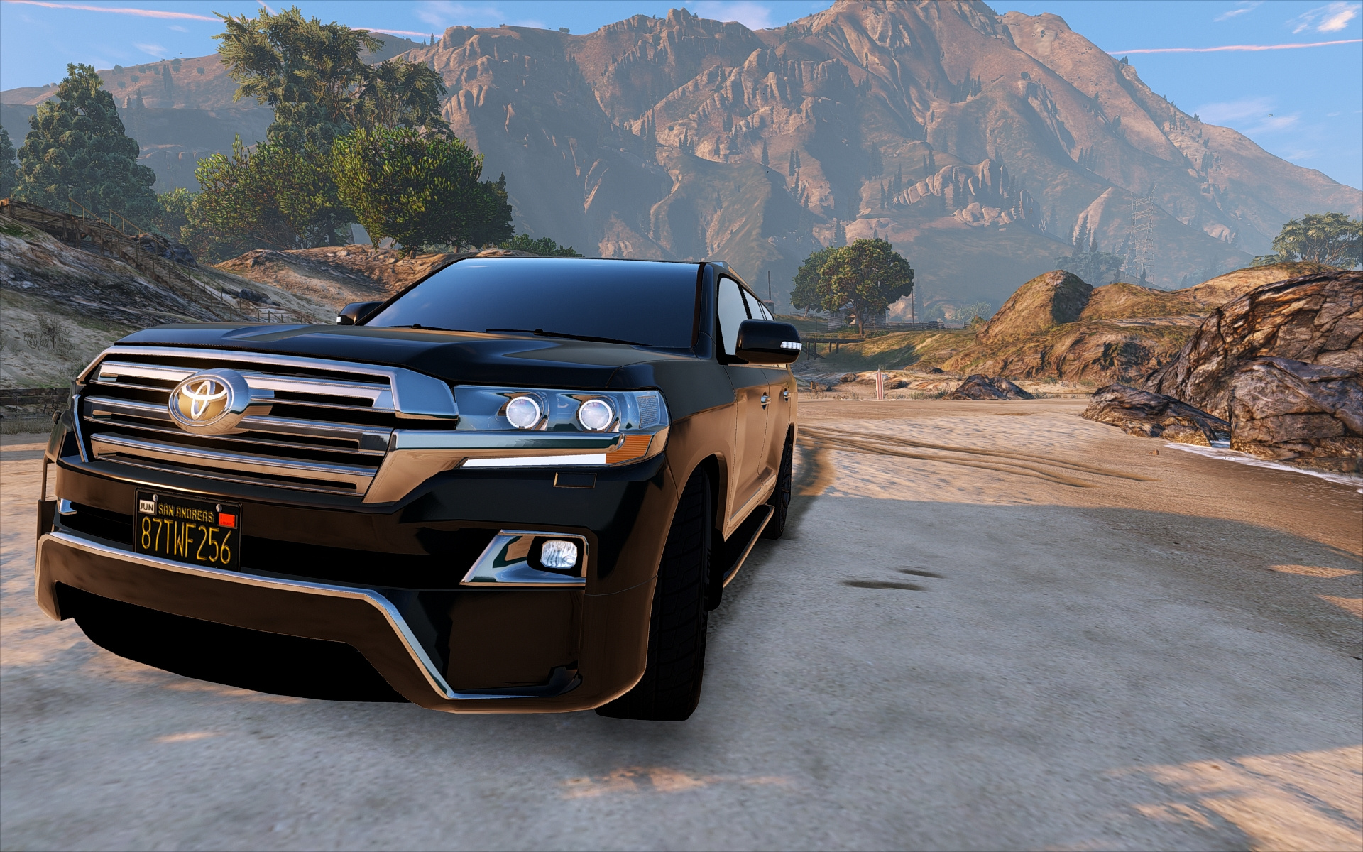 Toyota Land Cruiser 200 Vxr Real Physics Gta5 Modscom