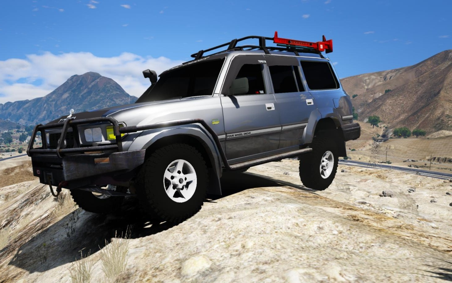toyota land cruiser autana 1997 add on replace 8 extras gta5. Black Bedroom Furniture Sets. Home Design Ideas