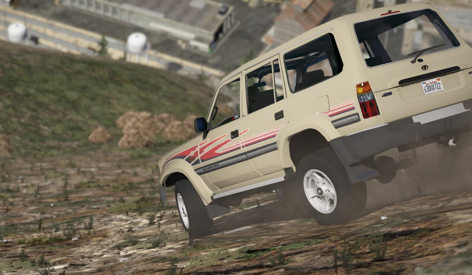 Toyota Land Cruiser Autana J80 1997 [Add-On | Replace ...