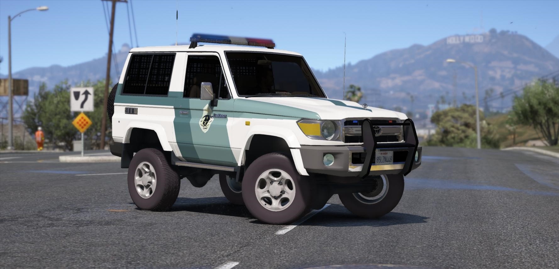 Toyota Land Cruiser J70 >> Toyota Land Cruiser J70 Machito Full Police 2014 Add On Replace