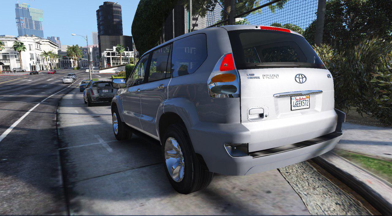 Toyota Land Cruiser Prado[Replace/Addon] - GTA5-Mods com
