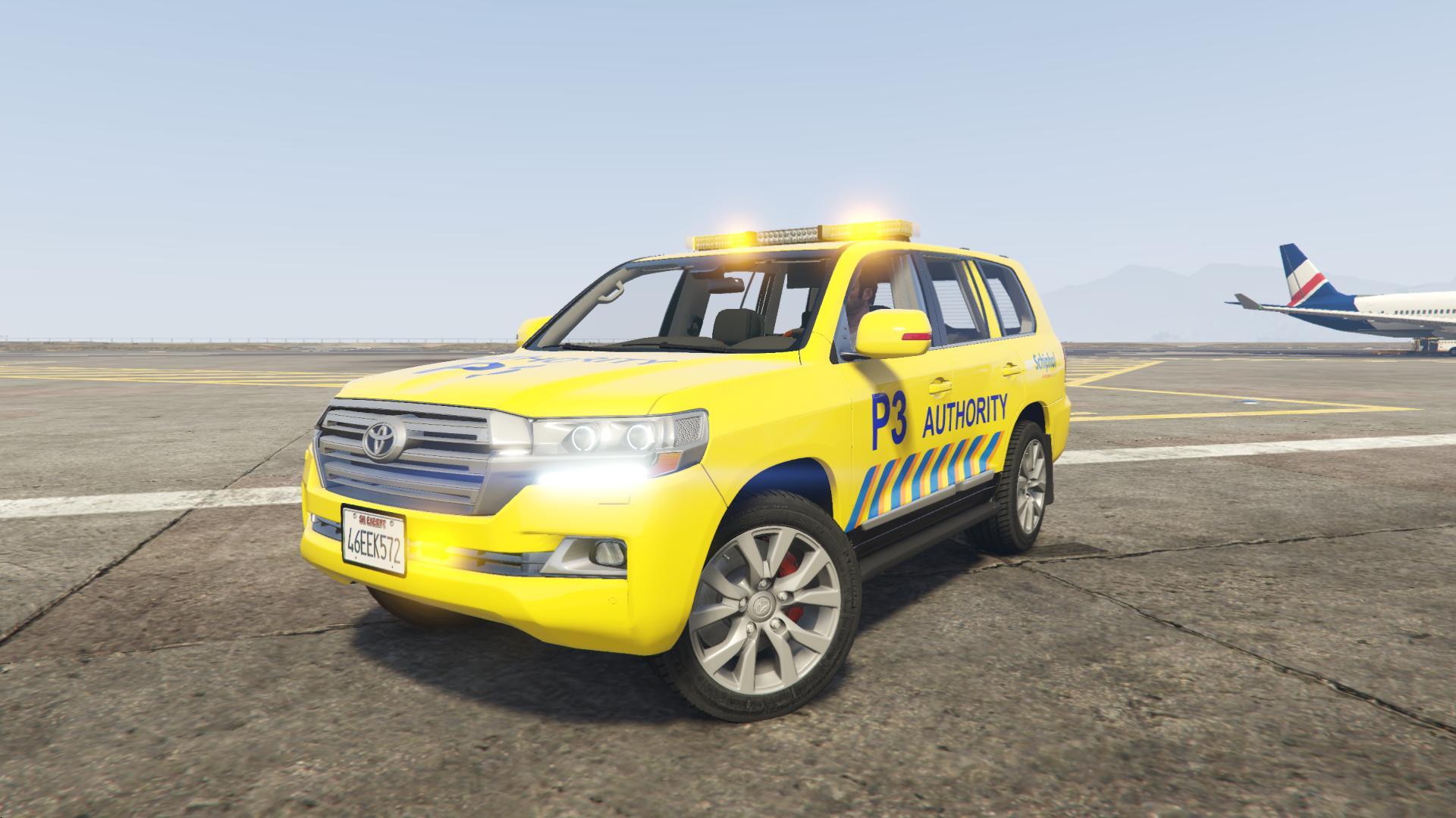 Toyota Land Cruiser Airport Authority Gta5 Mods Com