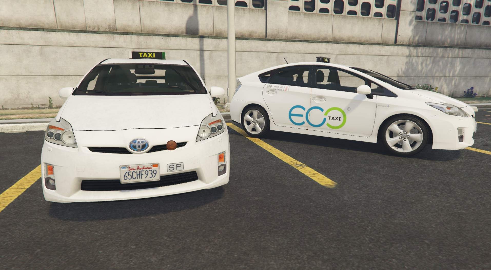 toyota prius eco taxi valencia gta5. Black Bedroom Furniture Sets. Home Design Ideas