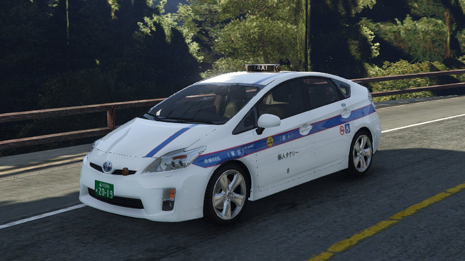 toyota prius japan tokyo personal hybrid taxi gta5. Black Bedroom Furniture Sets. Home Design Ideas