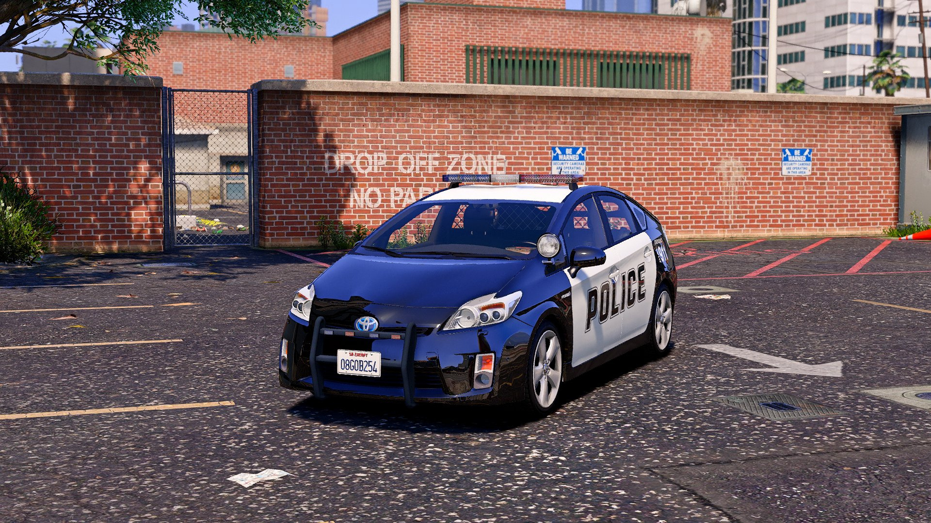 Toyota Prius Police Replace Wipers Template