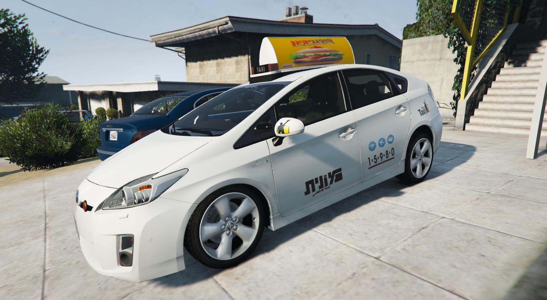丰田普锐斯出租车|以色列|GetTaxi|2017年