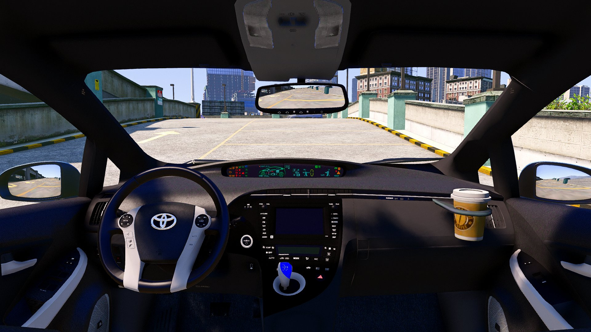 Toyota Prius Add On Replace Wipers Template Tuning Gta5