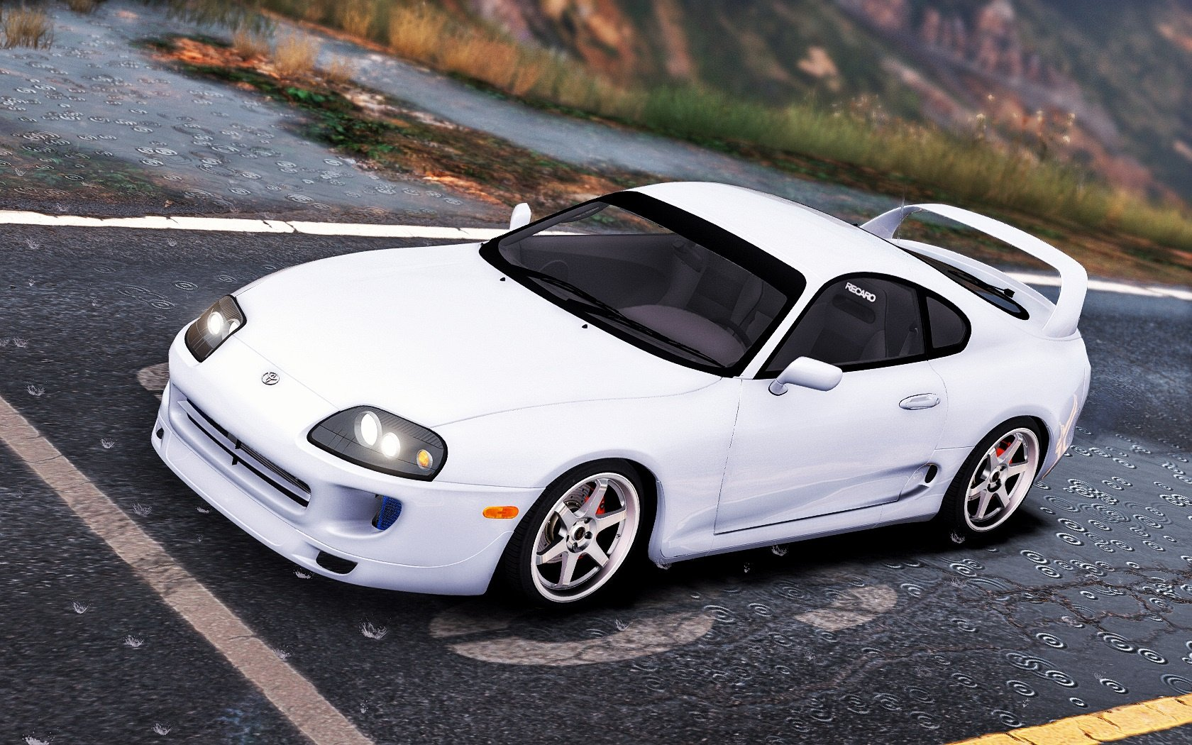 Toyota Supra Add On Stock Tuning Gta5 Mods Com