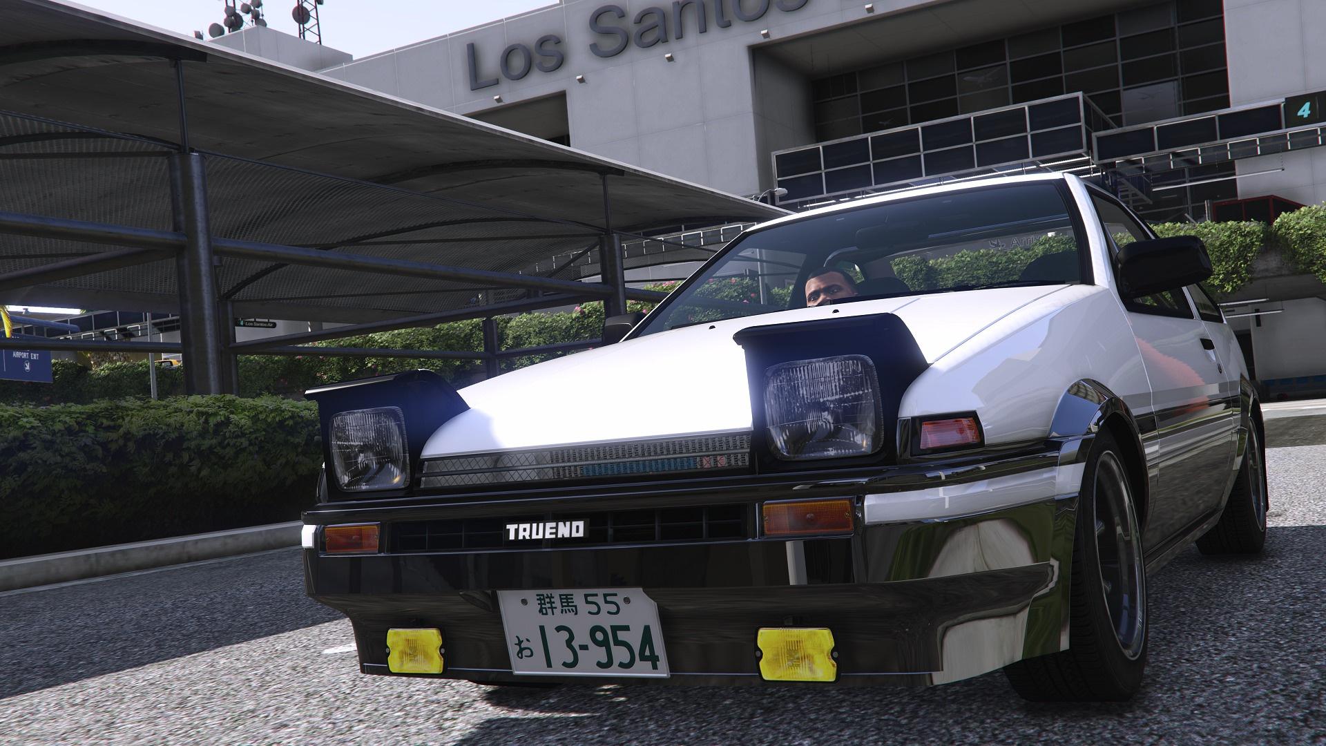 Toyota Trueno Ae86 Initial D