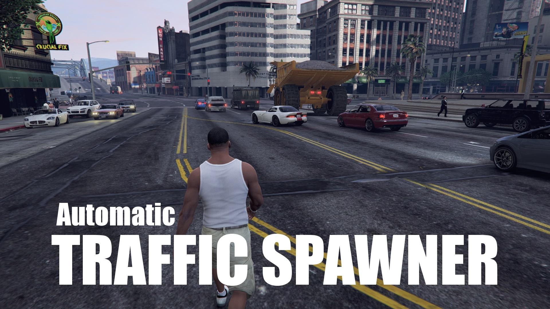 Traffic Spawner (modded traffic fix) - GTA5-Mods com