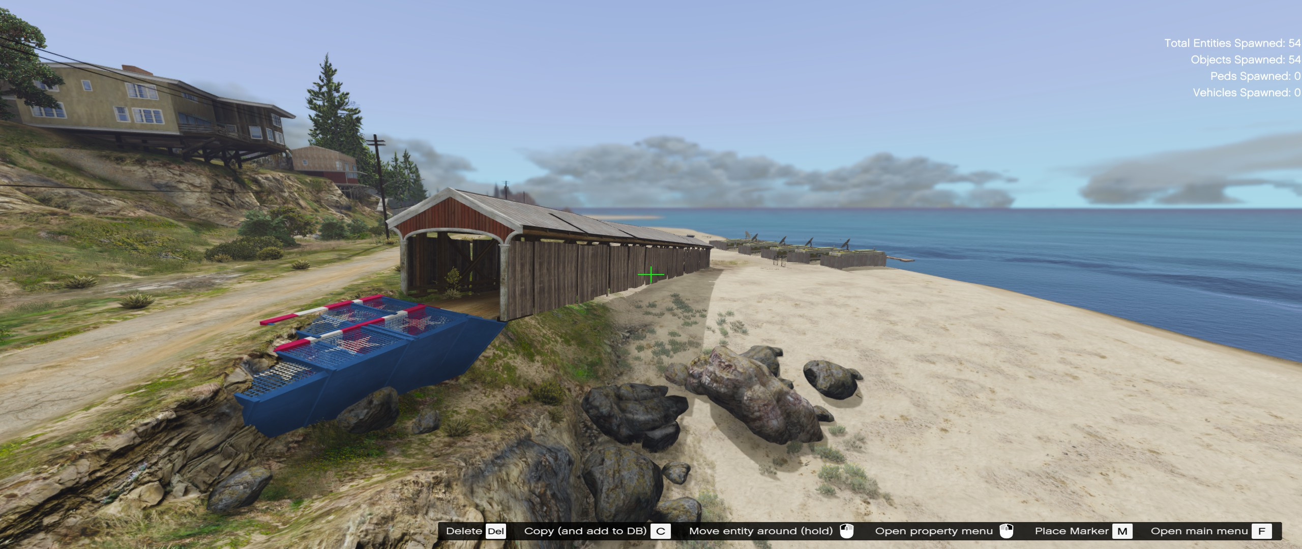gta 5 trailer park location