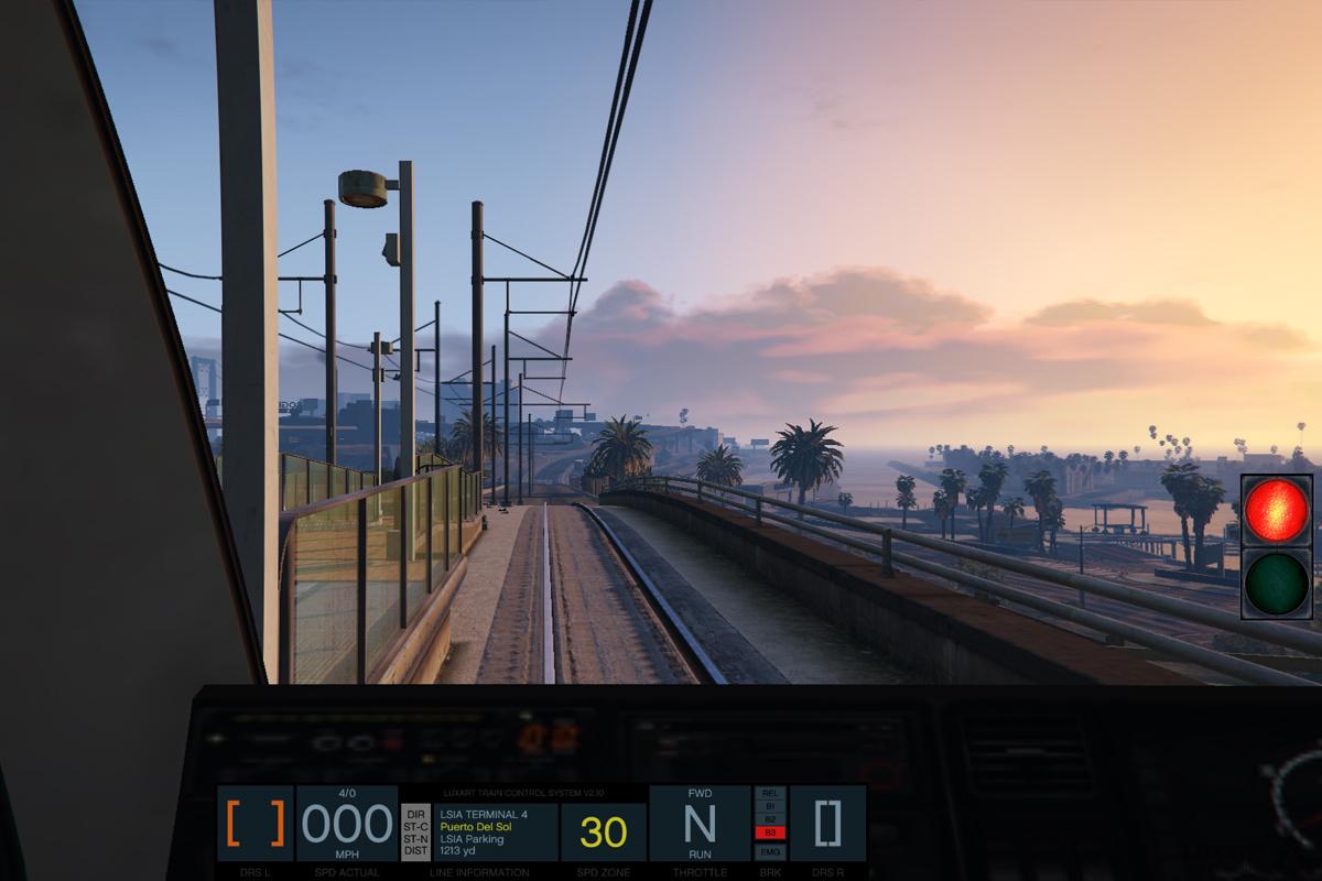 Train Simulation Mod - GTA5-Mods.com