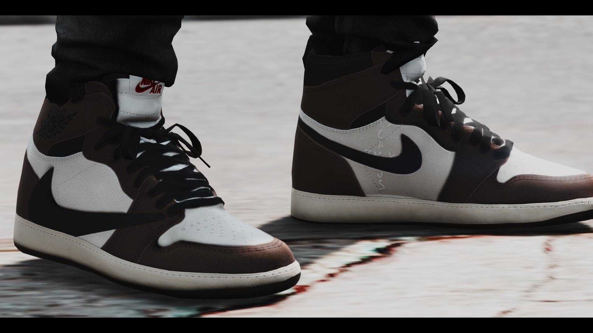 szczegółowe obrazy oficjalne zdjęcia 100% najwyższej jakości Travis Scott Sneaker Pack - GTA5-Mods.com