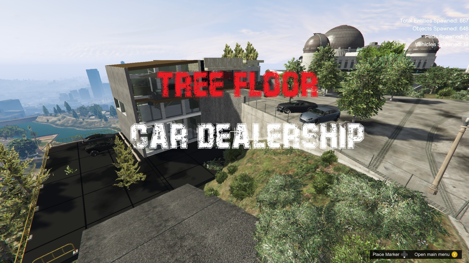 Tree Floor Car Dealership [YMAP | FiveM] - GTA5-Mods com