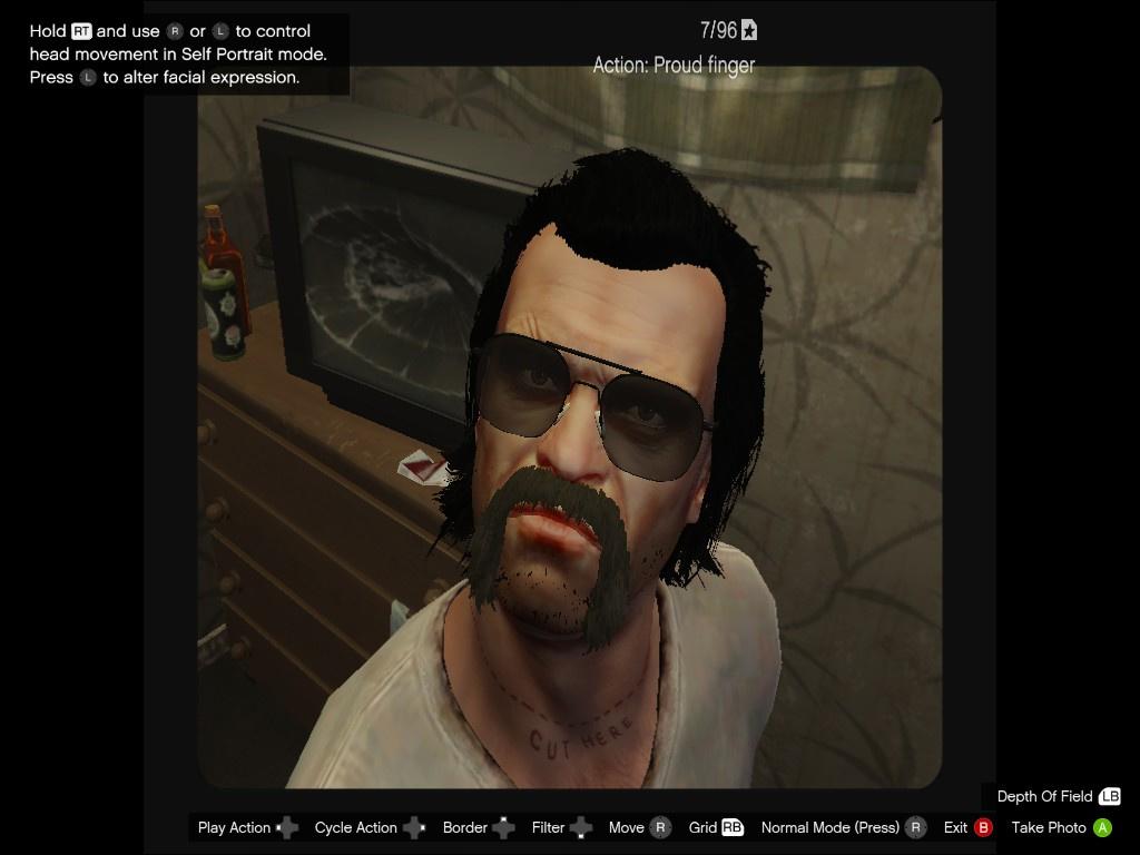 Trevor Face Pack #2: Steven Ogg - GTA5-Mods com