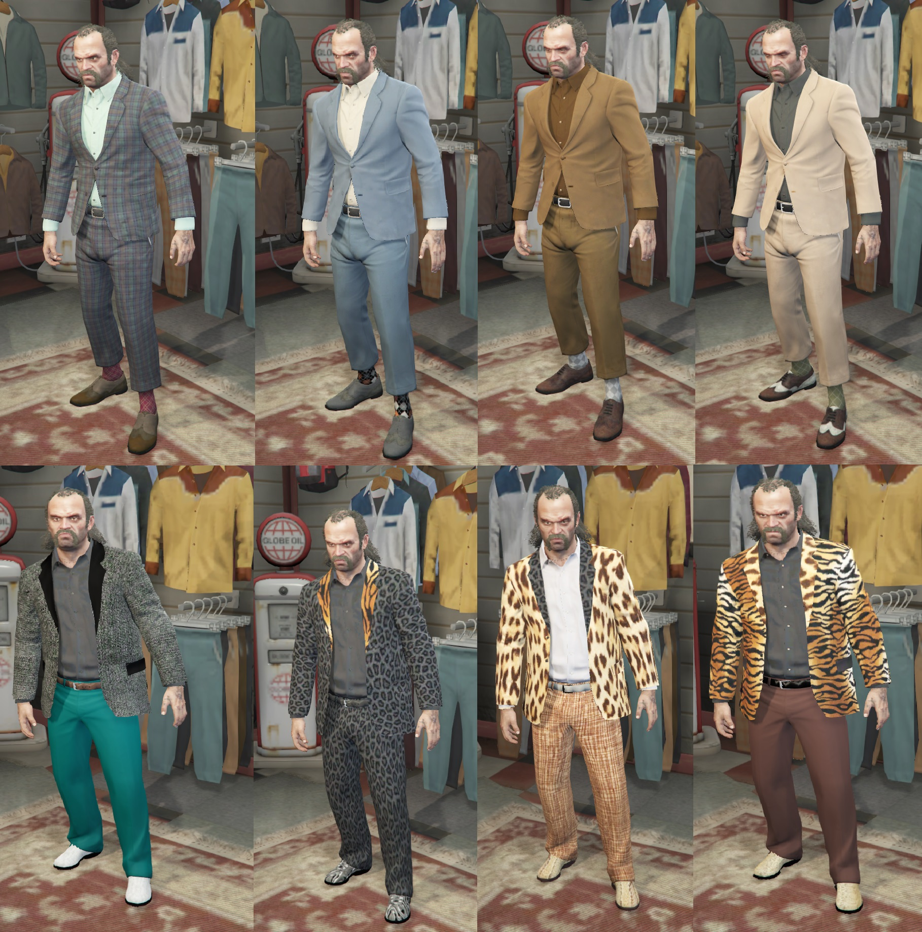 Cheap Suits Pack for Trevor - GTA5-Mods.com