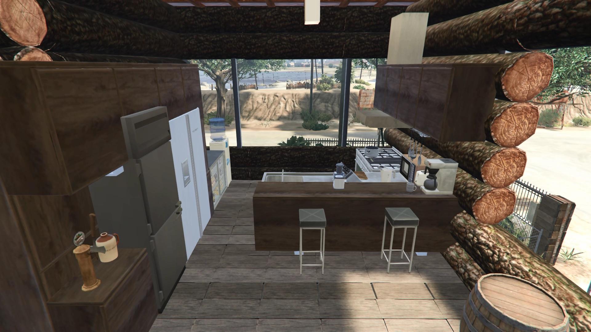 Trevor's Log House - GTA5-Mods com