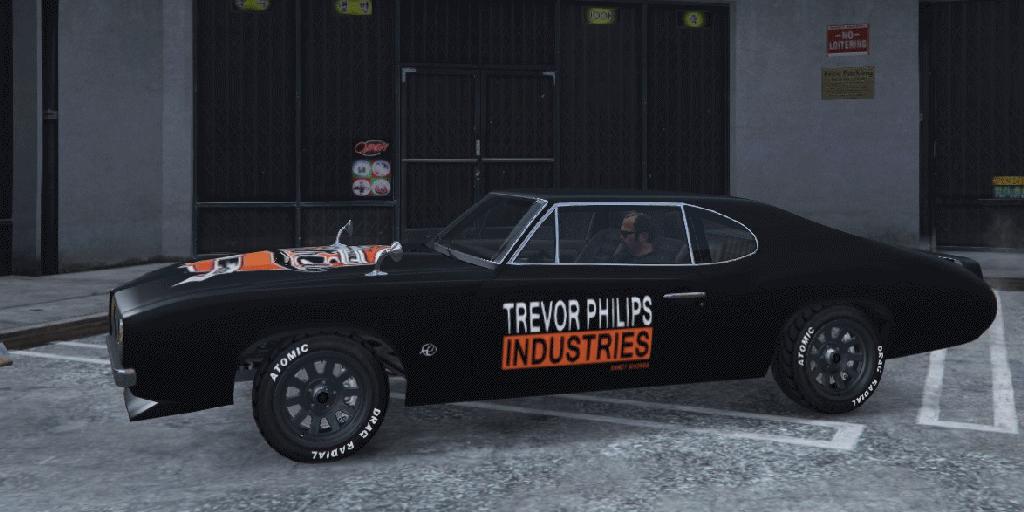 Trevor Phillips Industries Frogger - GTA5-Mods com
