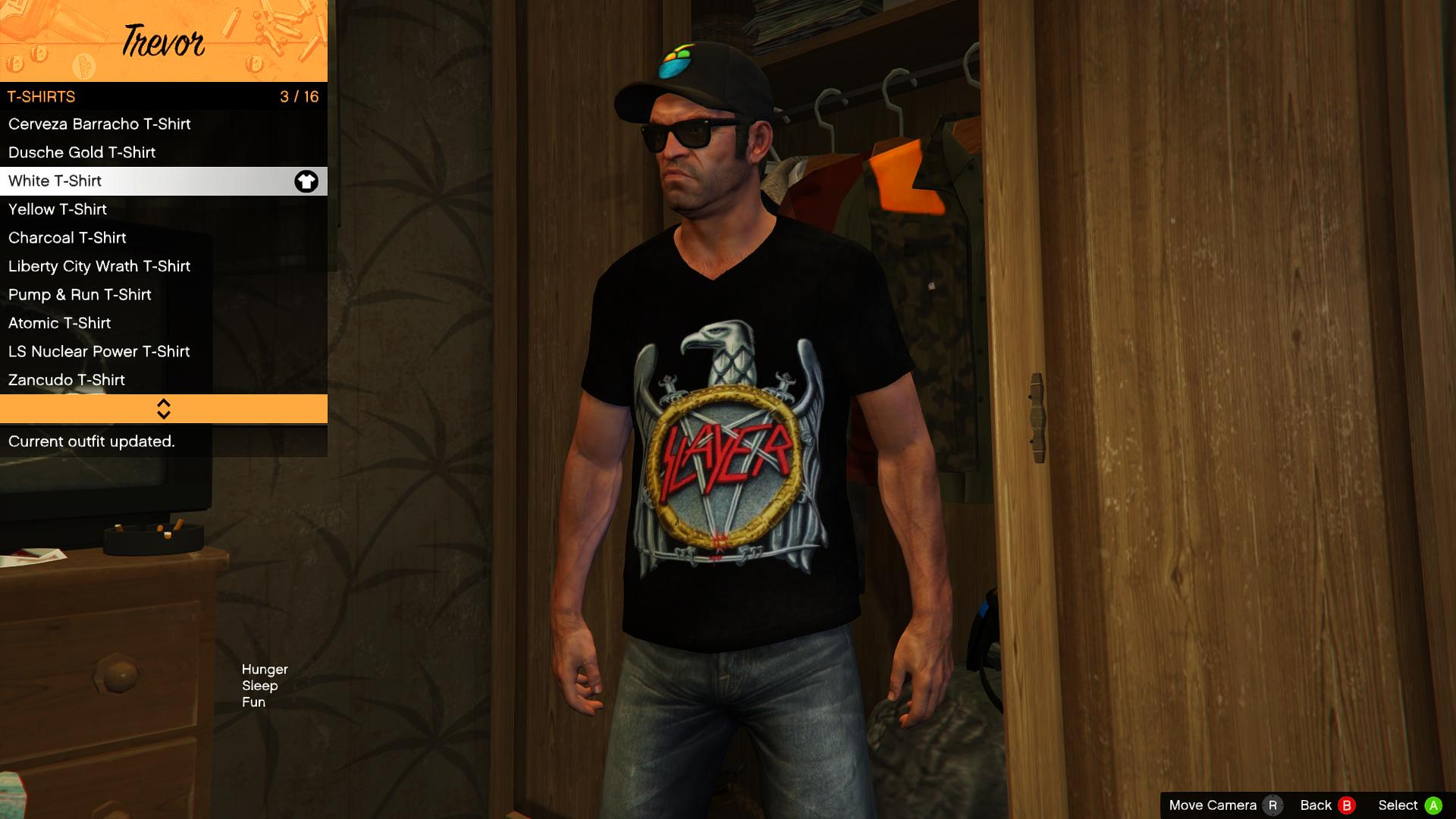 trevor 39 s metal shirts final gta5. Black Bedroom Furniture Sets. Home Design Ideas