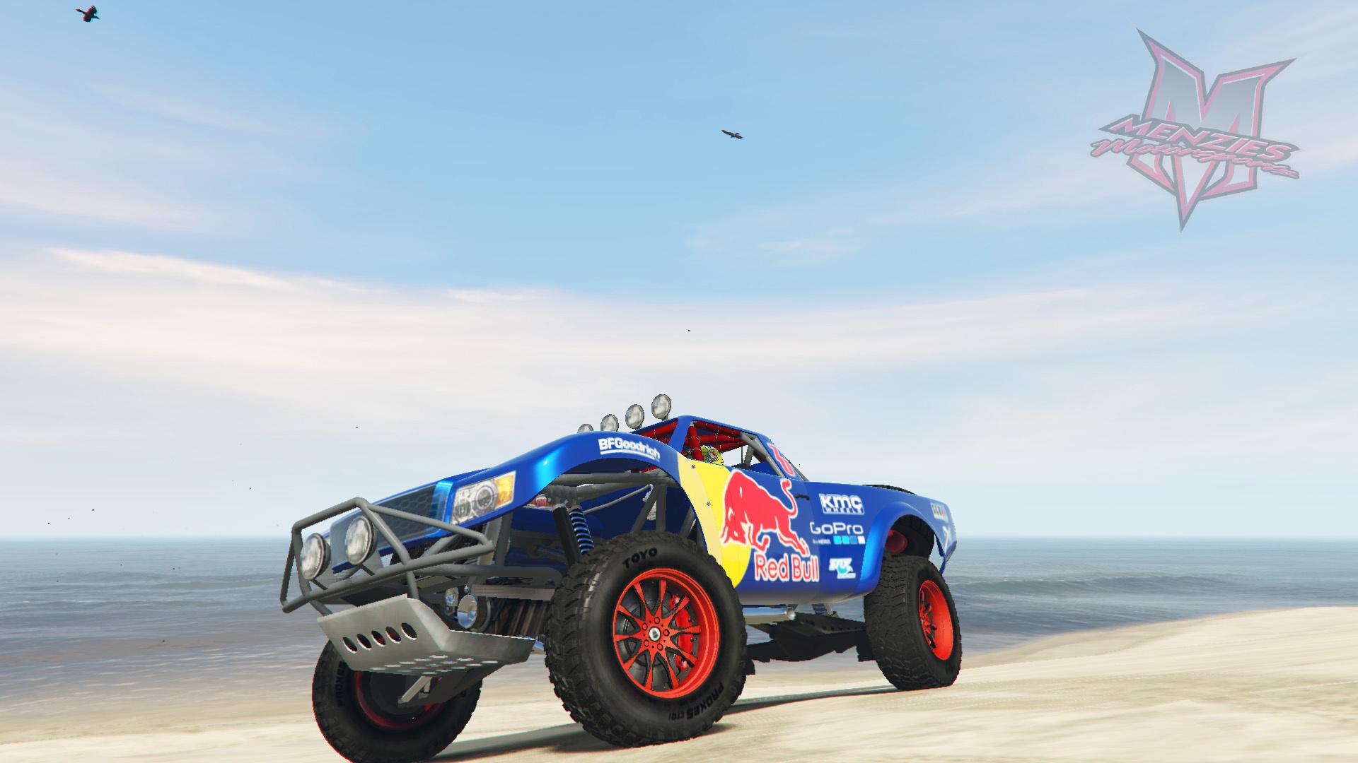 Trophy Truck Red Bull Livery Gta5 Mods Com
