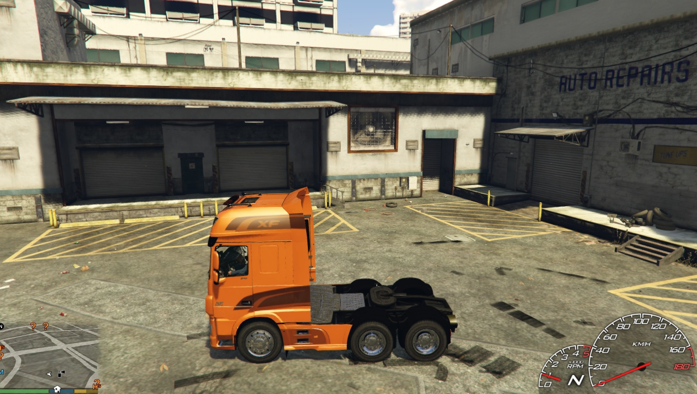 Truck Camion Daf Xf Euro 6 Add On Replace Gta5 Mods Com