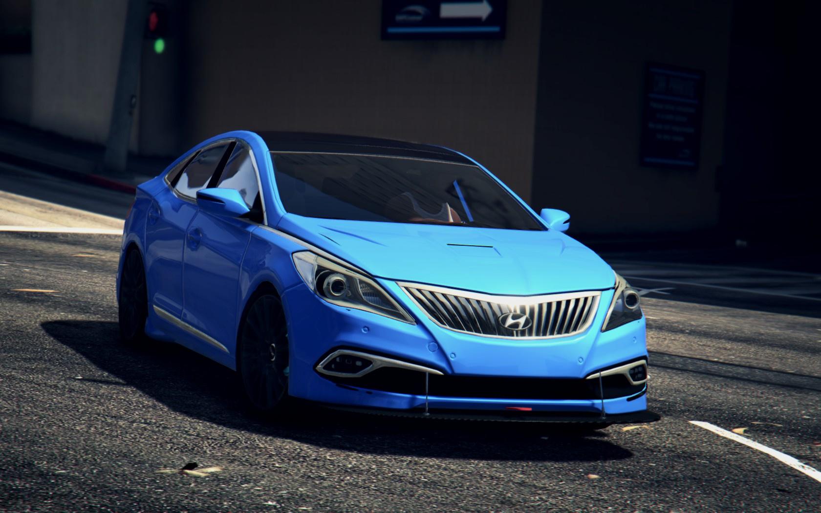 Tuning Parts For Hyundai Grandeur Azera Gta5 Mods Com