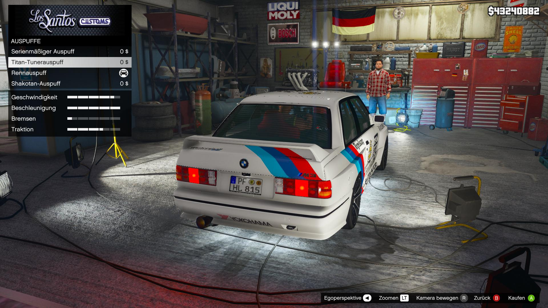 "Bmw Driving School >> Tuning Parts for ""Mrjappie241's"" 1991 BMW E30 M3 - GTA5-Mods.com"