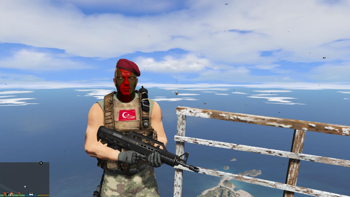 Turk Ozel Kuvvetleri Bordo Bereliler Turkish Army Special