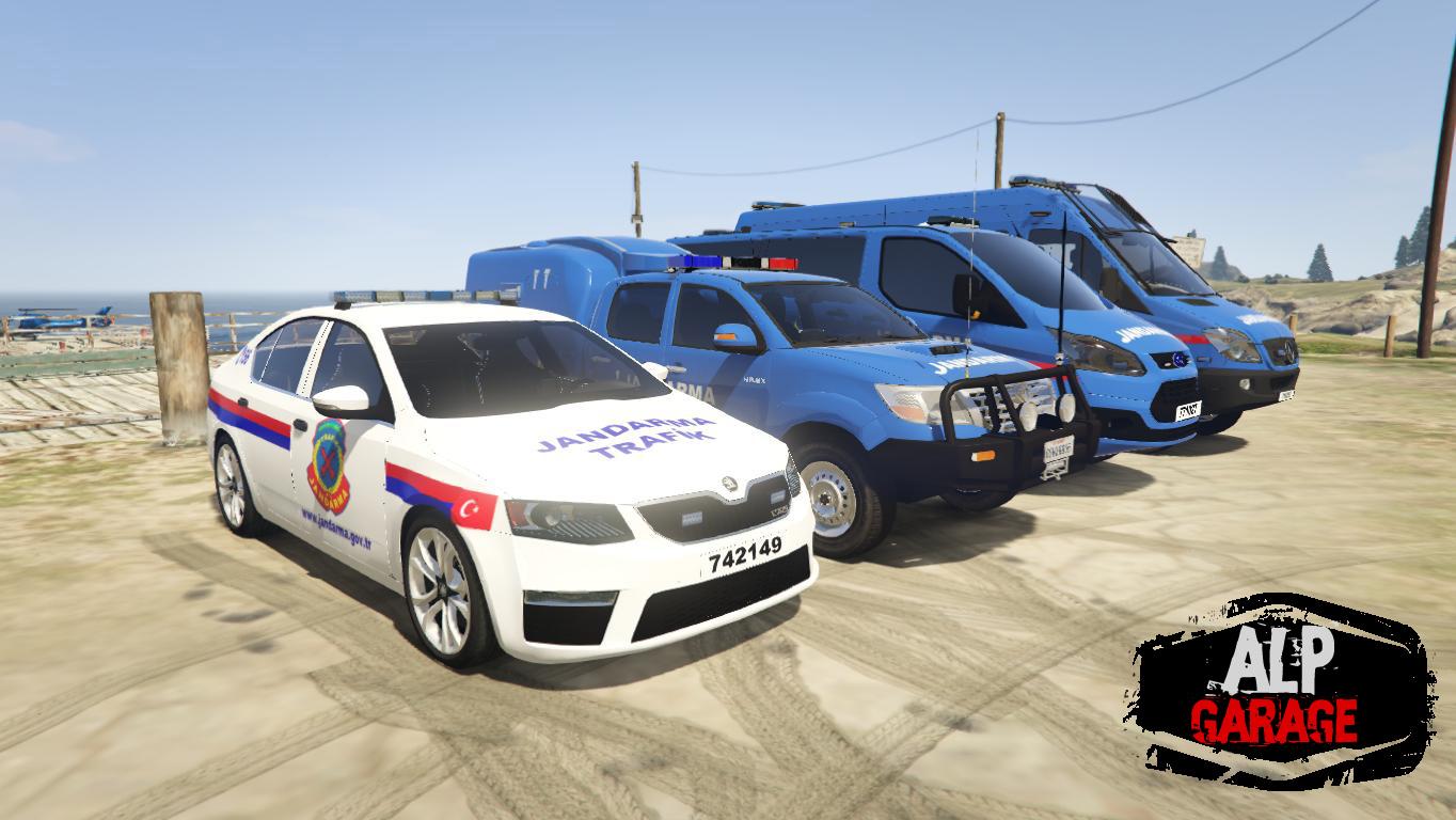 Turkish Gendarmerie Pack Jandarma Araclari 4k Gta5 Mods Com