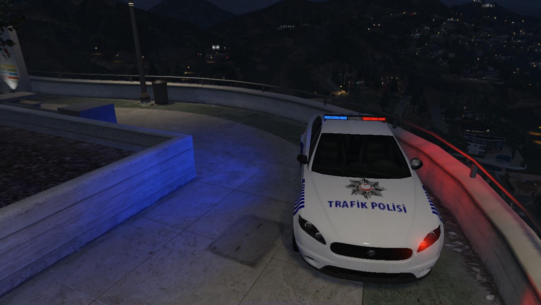 Turkish Trafic Police Car L Turk Trafik Polisi Arabasi Gta5 Mods Com