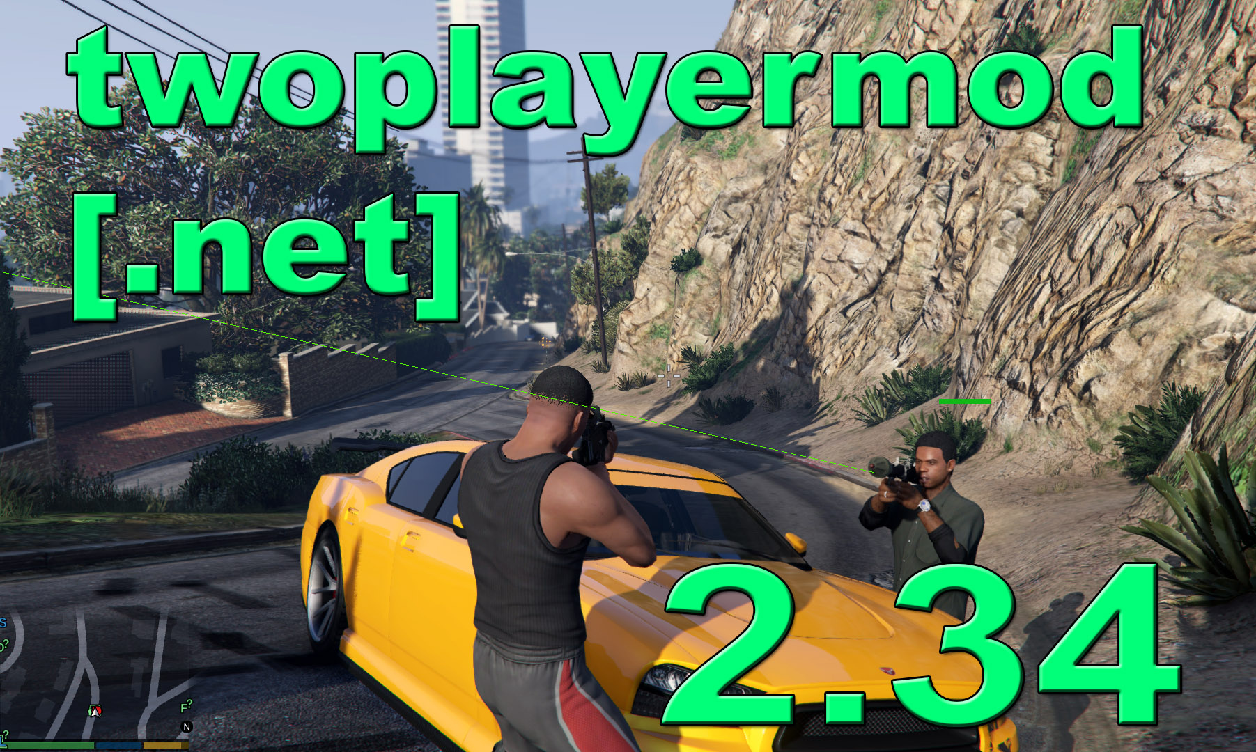 TwoPlayerMod [ NET] Beta - GTA5-Mods com