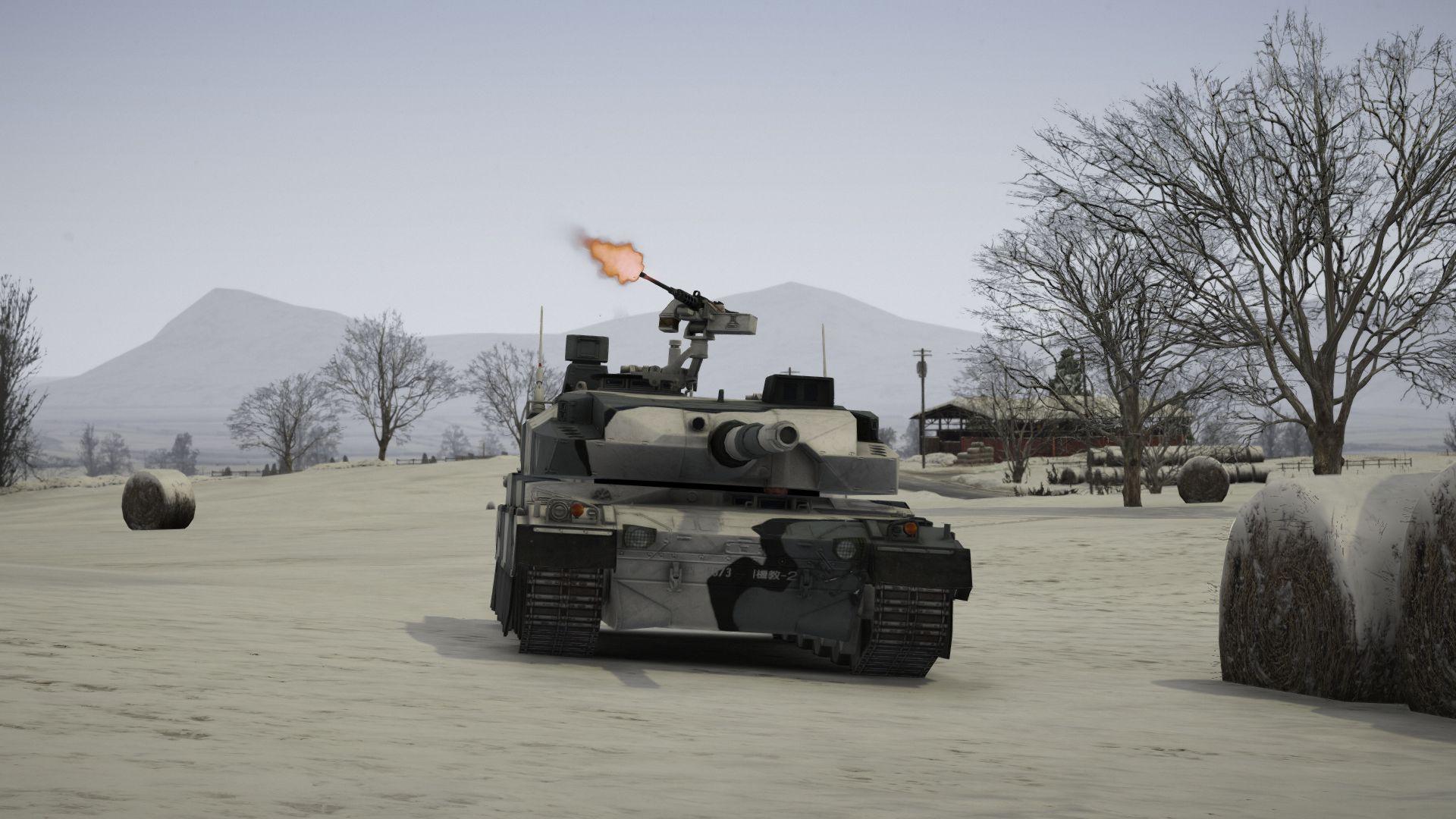 Type 10 Japanese Mbt Add On Working Hydraulics Gta5
