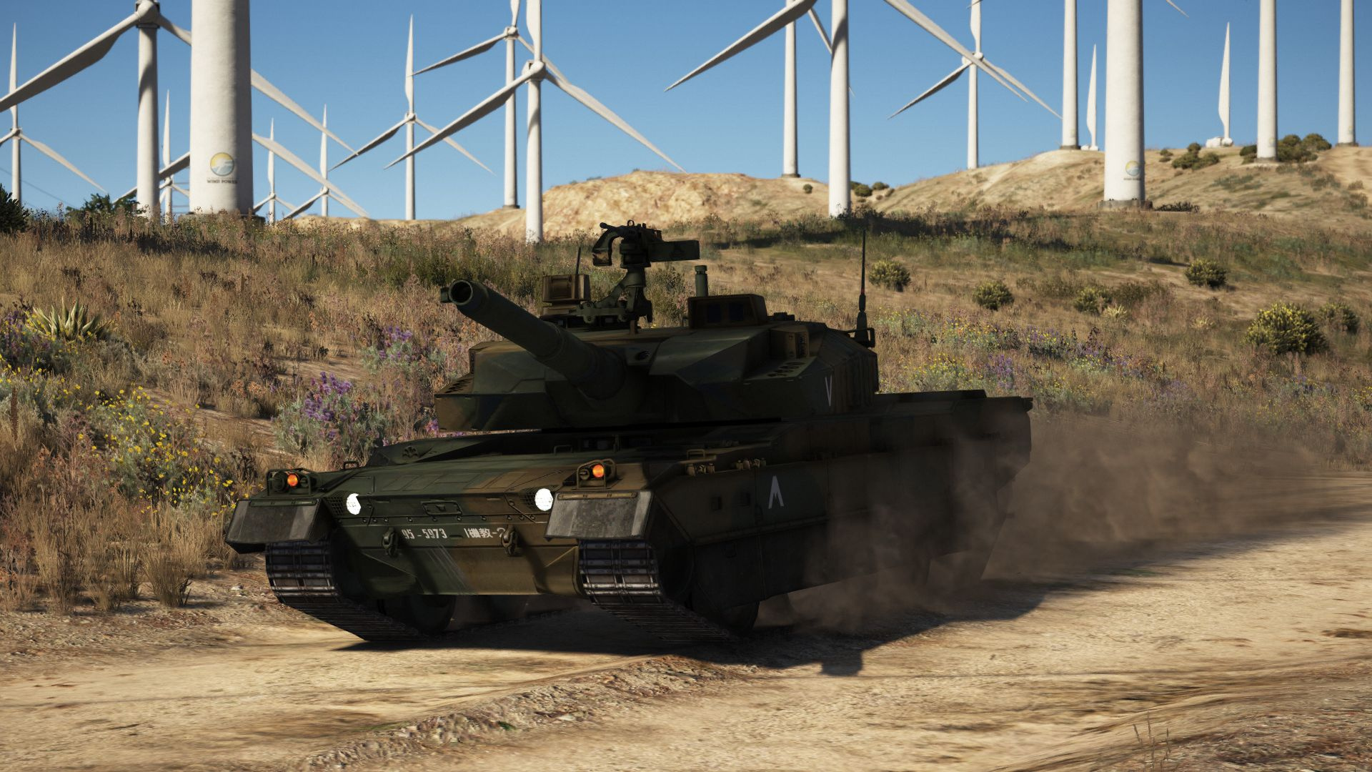 Type 10 Japanese Mbt Add On Working Hydraulics Gta5