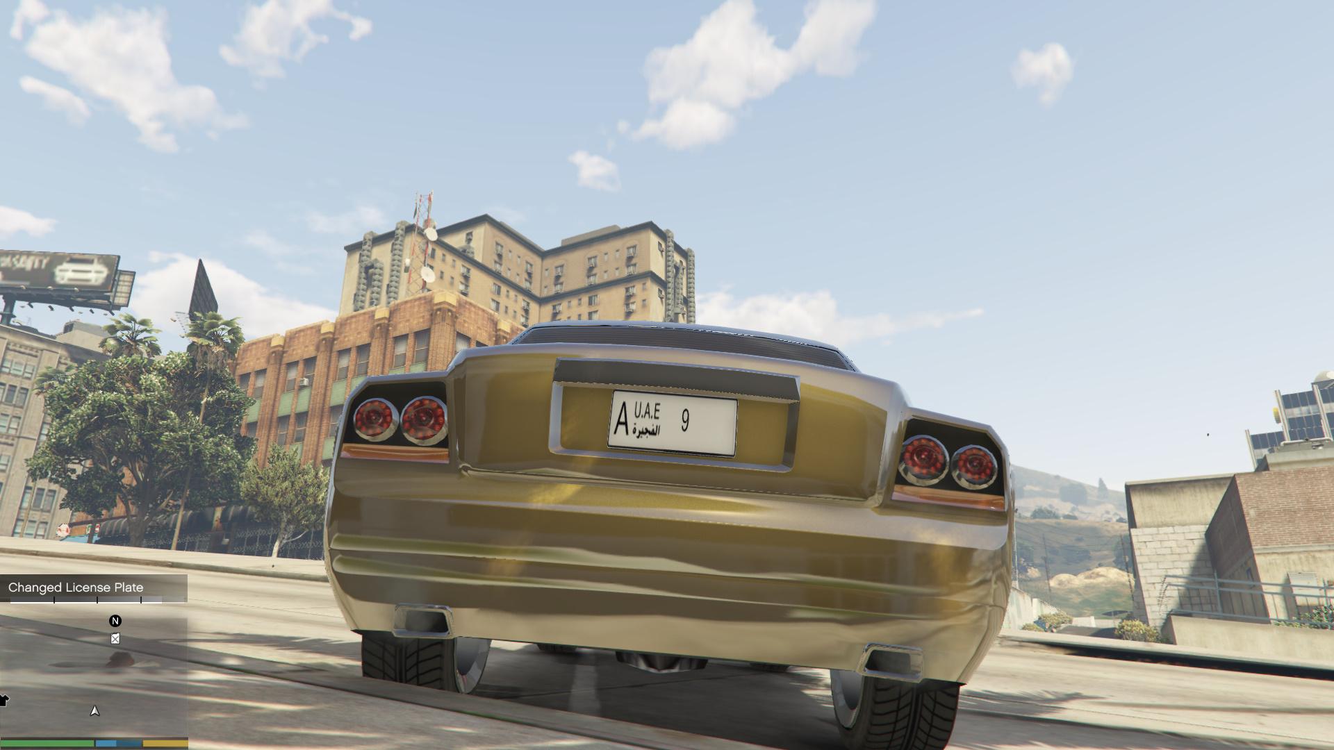 Uae License Plates Gta5 Mods Com