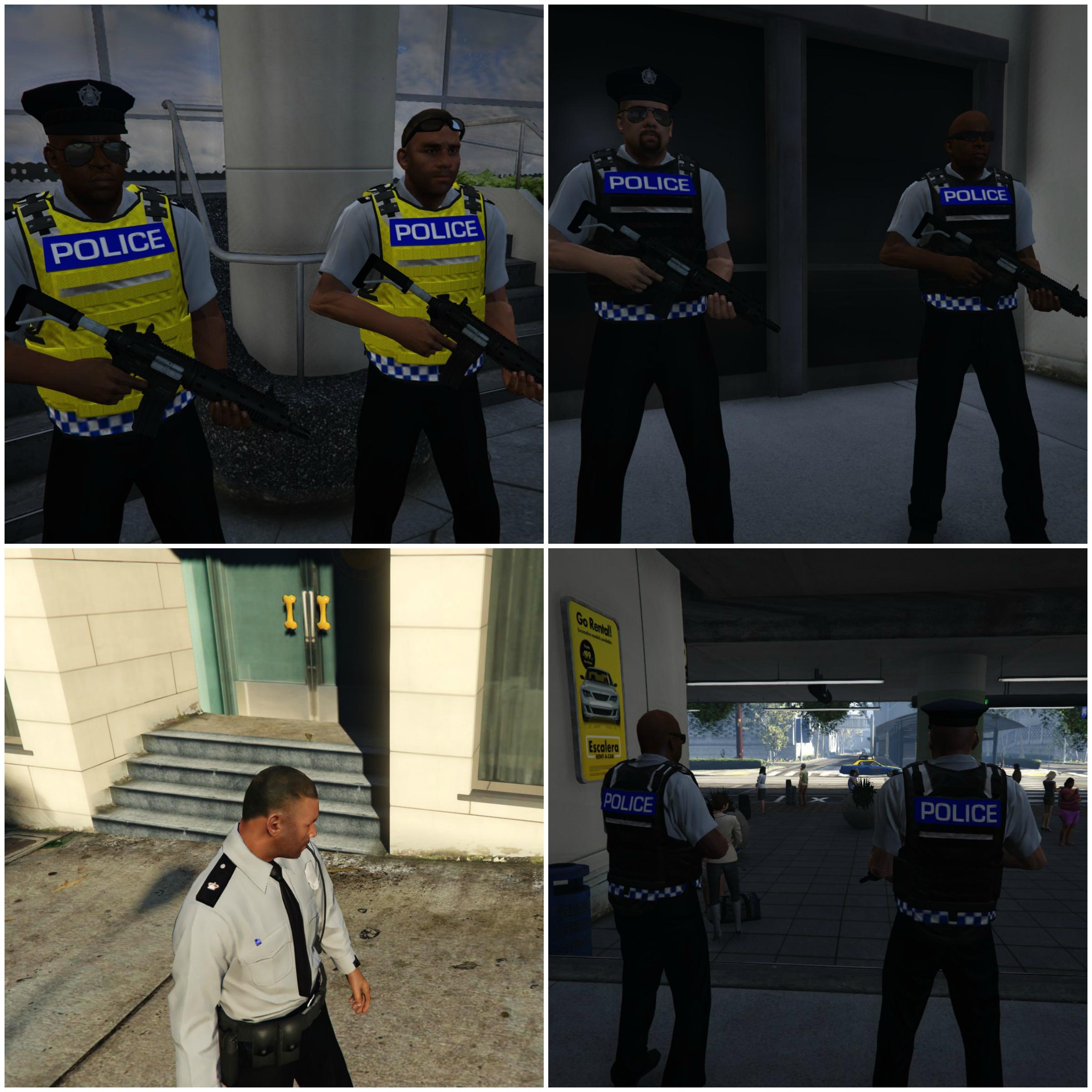 Ultimate British Police Uniforms - GTA5-Mods com