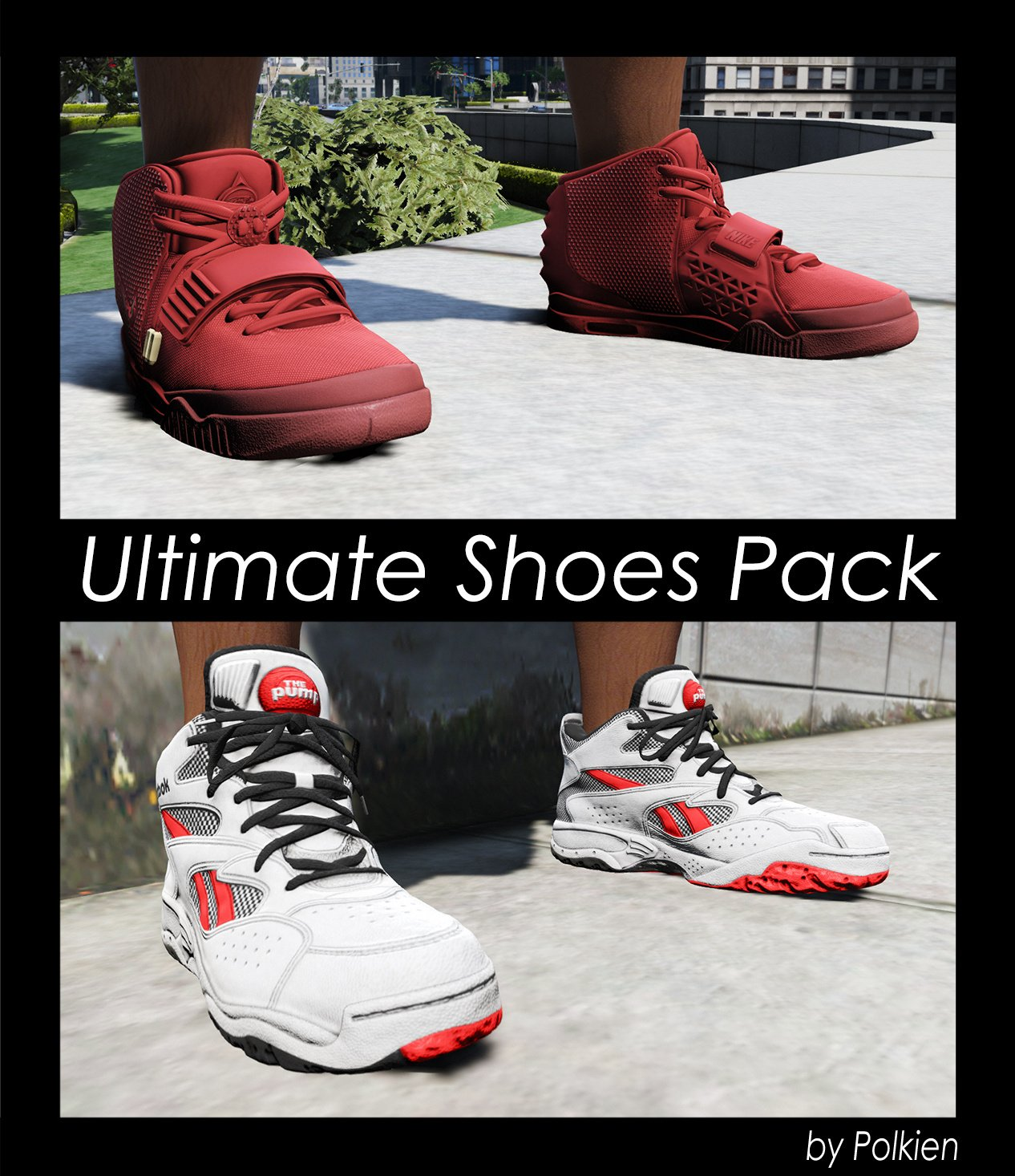 c93efc272ba8 Ultimate Shoes Pack (for Franklin)  Add-On  - GTA5-Mods.com