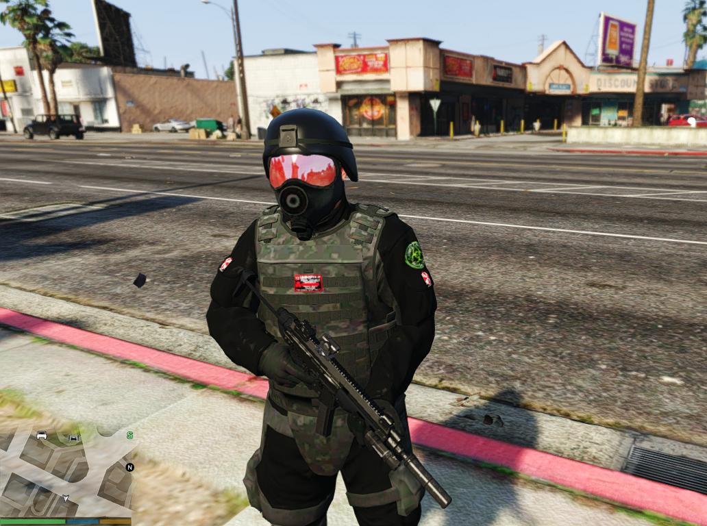 Umbrella Corporation Soldiers Gta5 Mods Com
