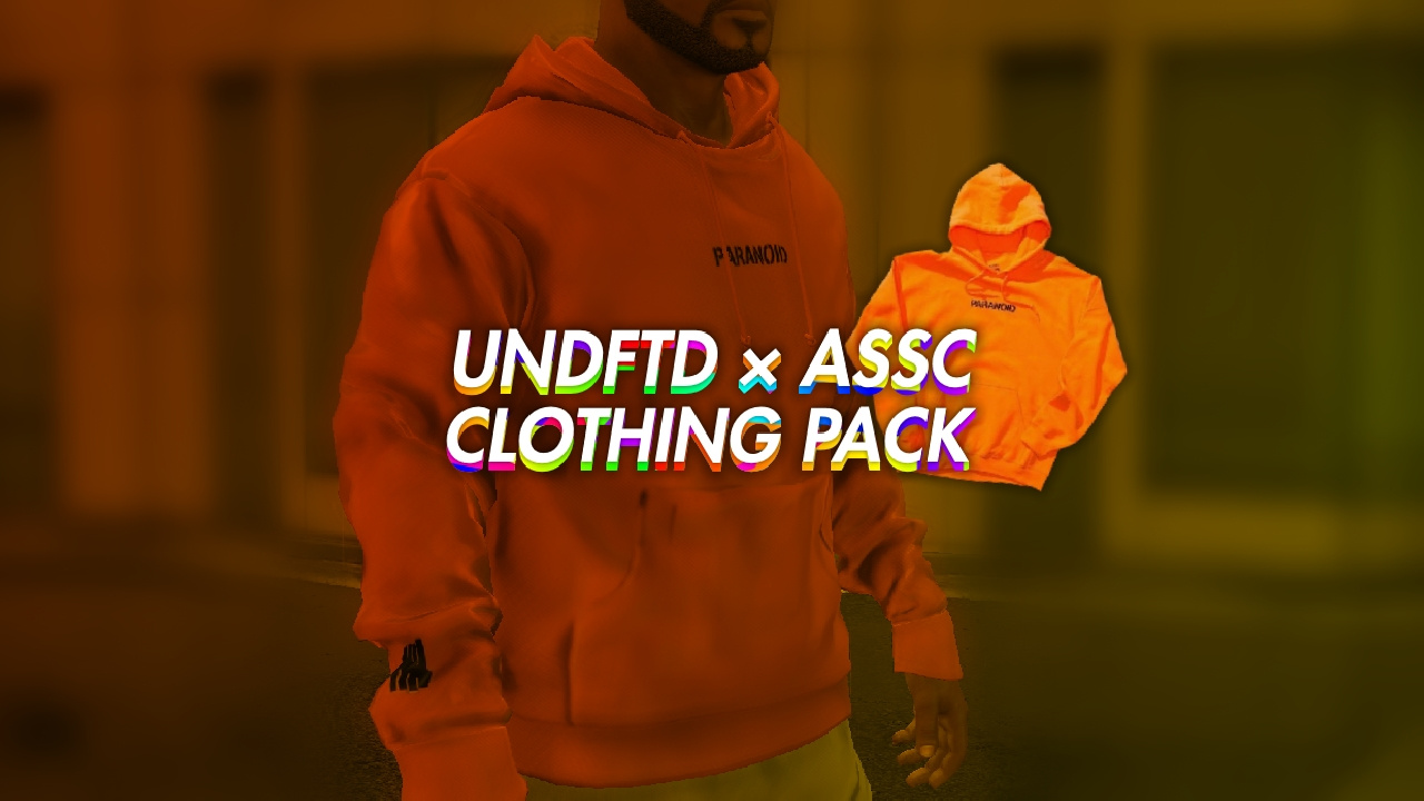 ef5b992bc6f2 UNDEFEATED x Anti Social Social Club (PARANOID) CLOTHING PACK - GTA5 ...