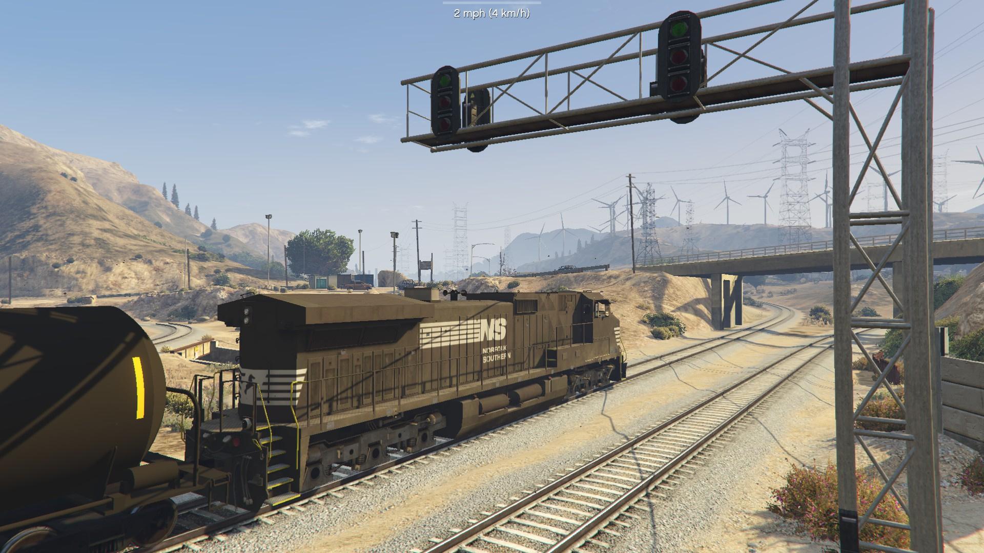 AC4400CW Locomotive / Train [Replace/Template] 8 Bonus Skins